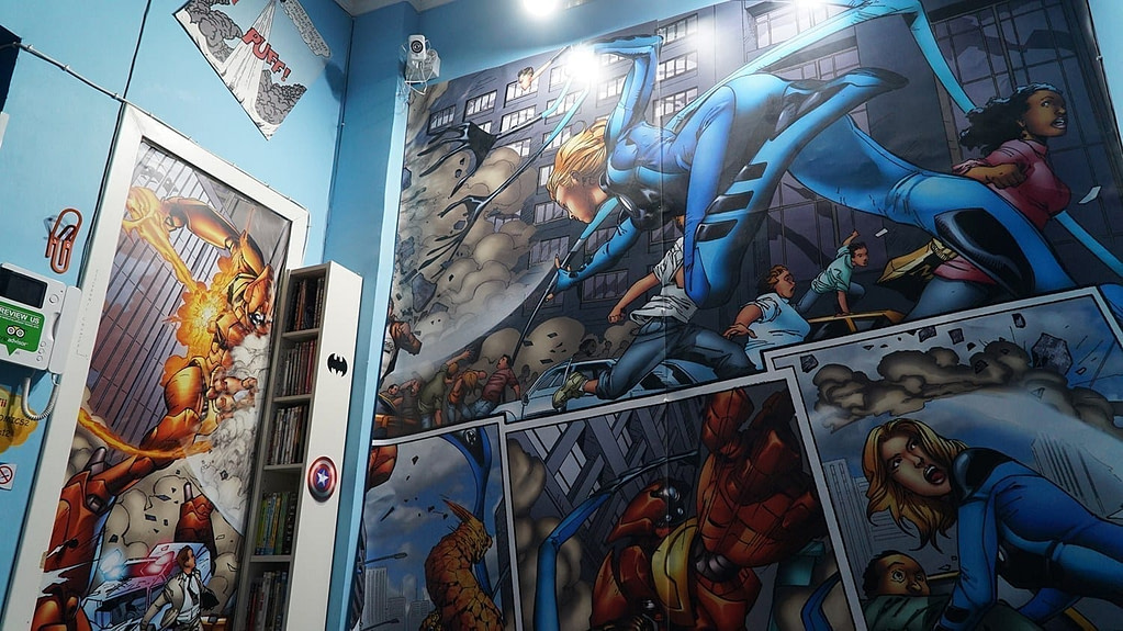Comics Guesthouse Hostel