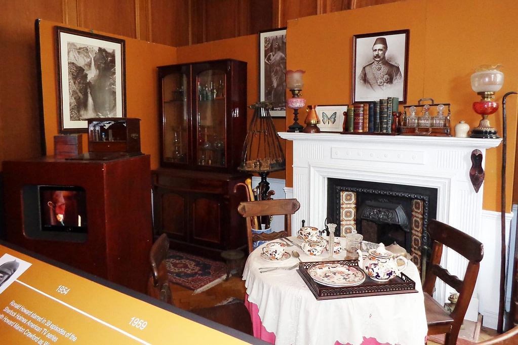 london film museum covent garden sherlock holmes exhibit