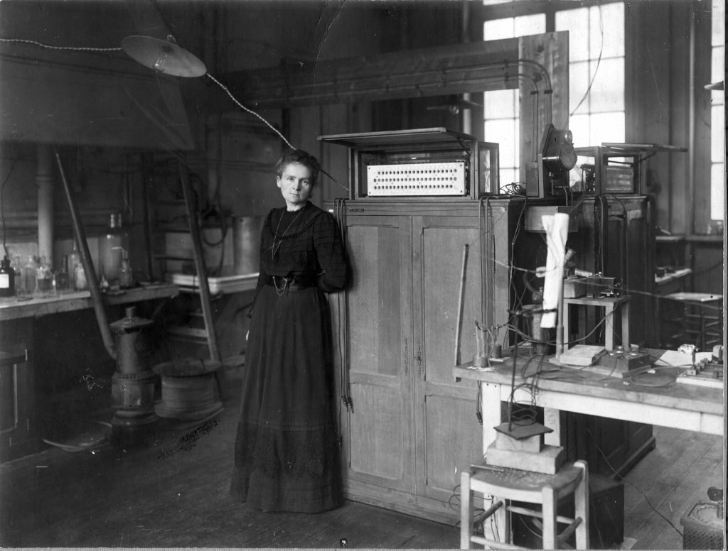 marie curie amazing women in history