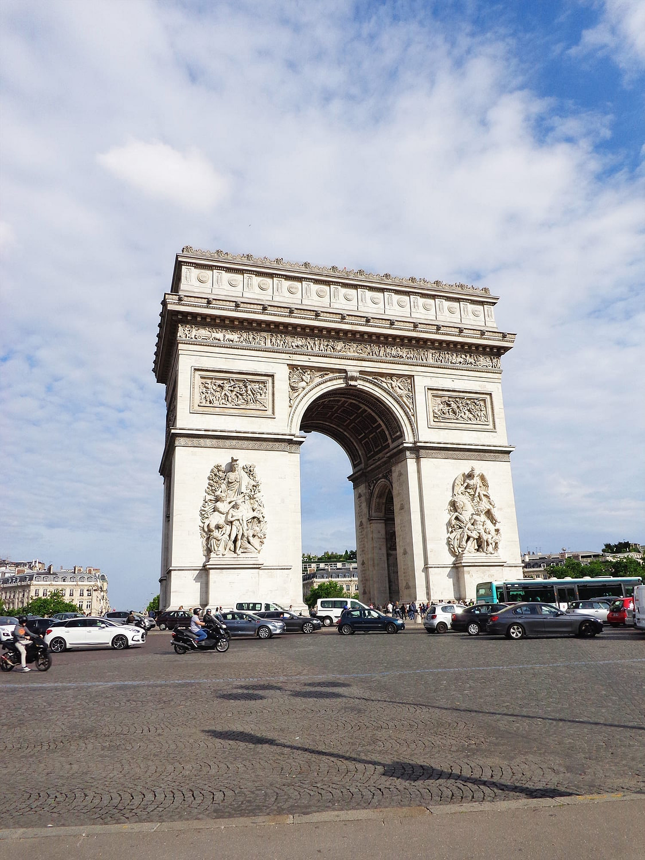 paris trip itinerary