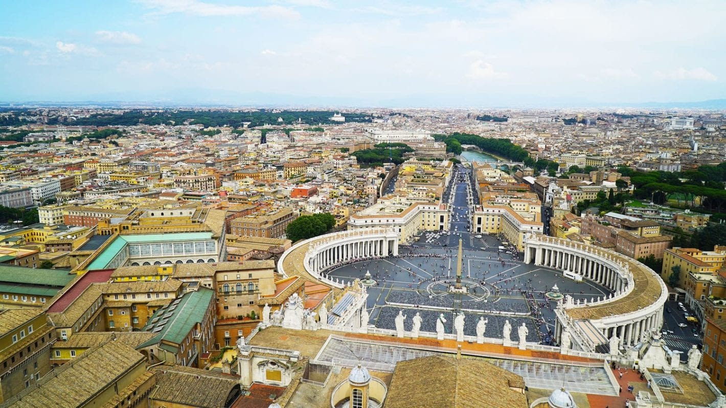 Climbing the Dome of St Peter's Basilica