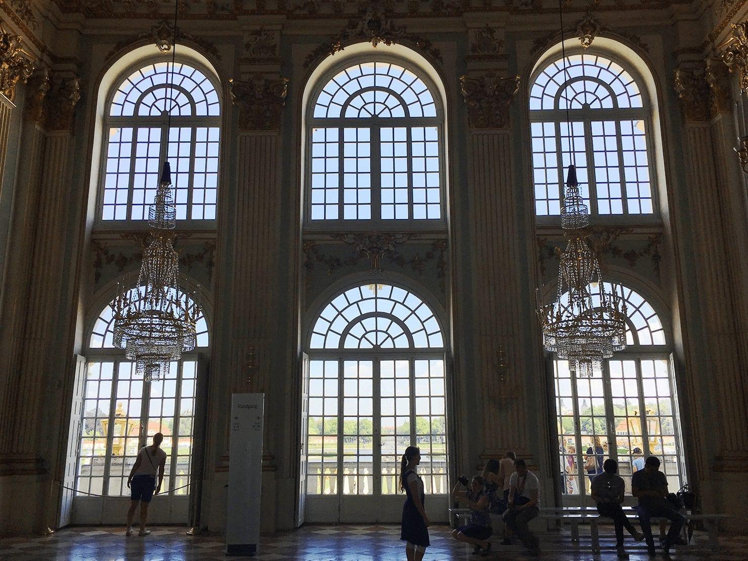 great hall Nymphenburg