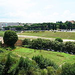 Domus Augustana Overlooking the Circus Maximus
