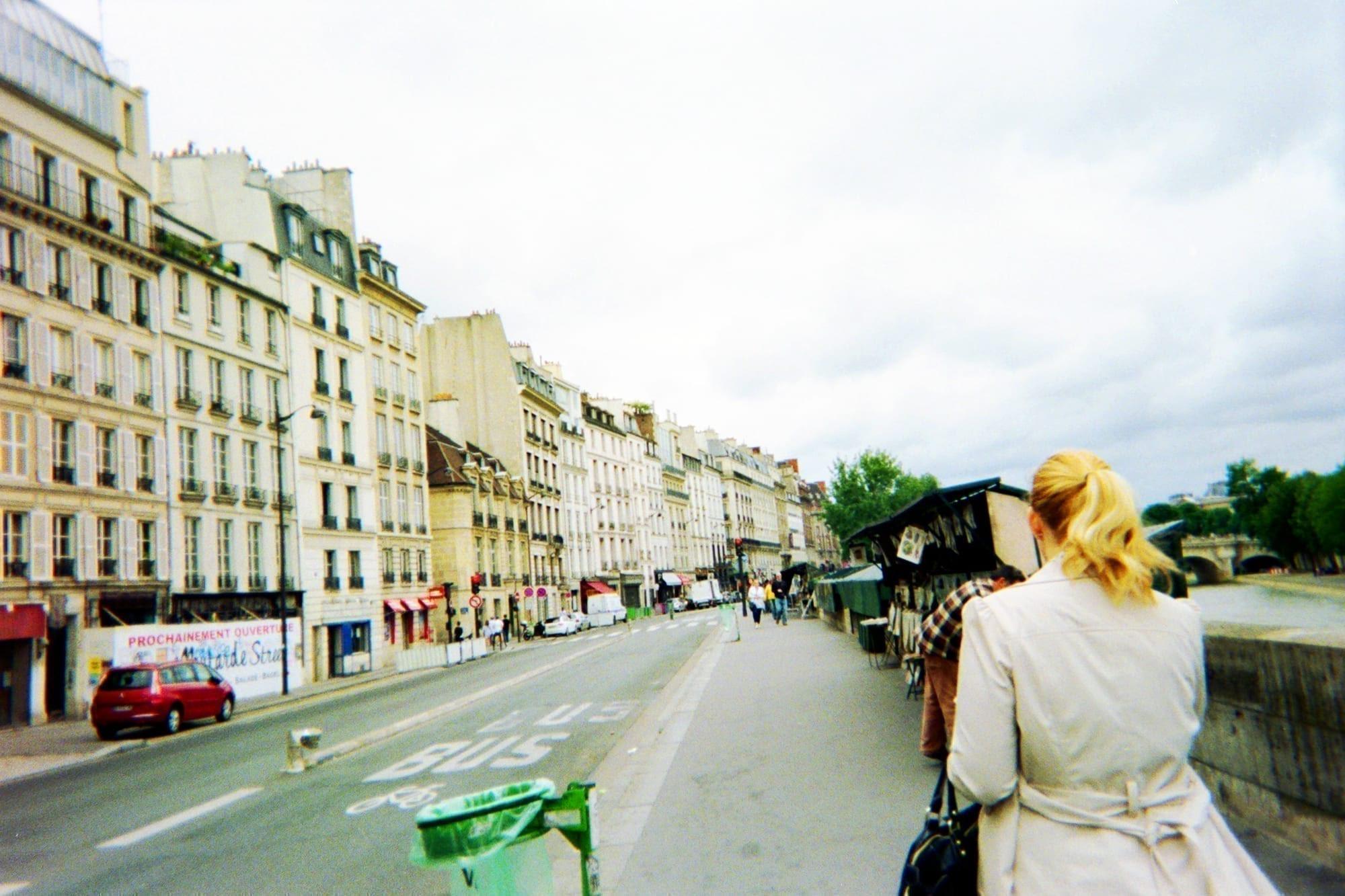 paris street european trip planner map