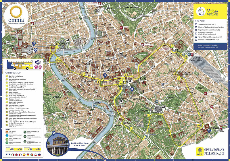 Vatican & Rome Bus Tours (Roma Cristiana)