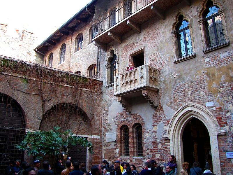 Stand On Juliet's Balcony