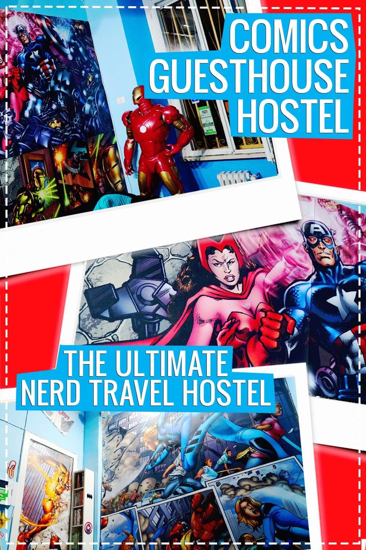 comics guesthouse hostel rome